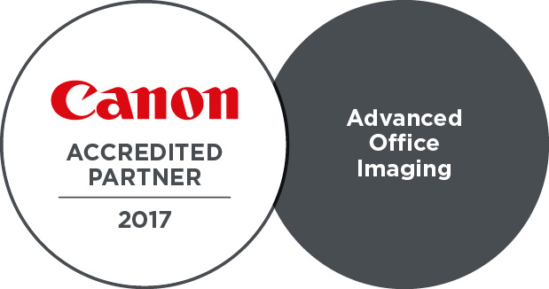 Canon Accredited partner 2017 - Advanced office imagining